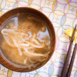 豆芽菜奶油味噌湯