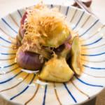 2步驟微波料理|柴香柑橘醋醬茄子