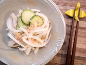 鮪魚黃瓜洋蔥醋拌菜