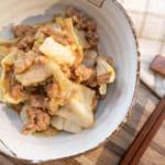 甜味噌醬炒肉末高麗菜|微波料理輕鬆做