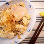 沖繩風豬肉豆腐炒豆芽