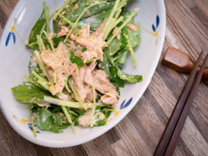 鴨兒芹鮪魚美奶滋沙拉