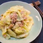 生薑高麗菜鮪魚拌菜|微波爐輕鬆做