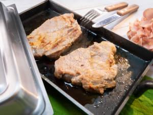 鹽麴香煎豬排