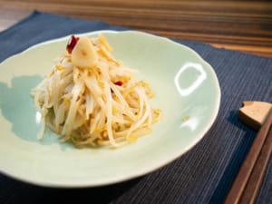 大蒜橄欖油豆芽菜