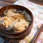 蓮藕雞肉丸薑湯