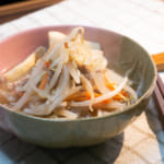 豆芽菜燴絞肉