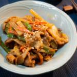 韓式燒豬肉蘿蔔