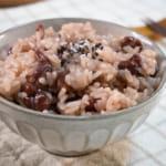 壓力鍋煮日式紅豆飯