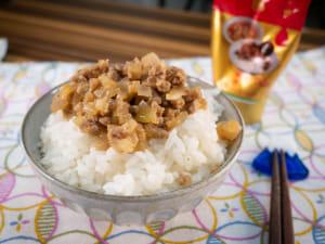微波爐做滷肉風魯肉飯|愛醬輕鬆做料理