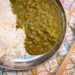 菠菜素食咖哩