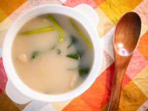 菠菜牛奶湯