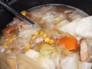 西式蔬菜濃湯大變身|濃湯咖哩飯