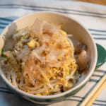 柑橘醋醬油(ぽん酢)鮪魚豆芽沖繩風炒菜