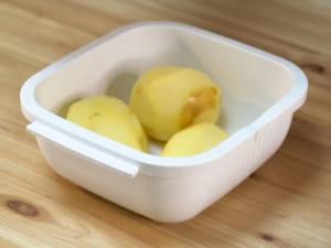 微波爐做馬鈴薯沙拉|日本GOURLAB多功能微波調理餐盒