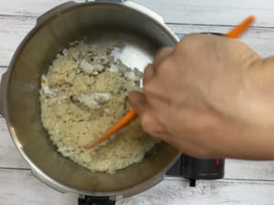 壓力鍋做鯛魚炊飯