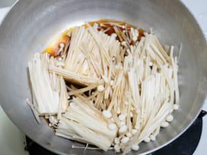 日式酸甜金針菇煮