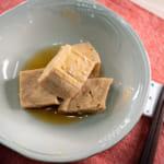 日式煮凍豆腐