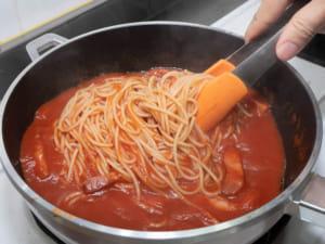 茄汁培根義大利麵|家樂福食物轉型企劃