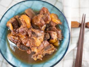 蜂蜜醬油酸甜帶骨豬排