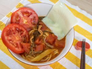 太陽的蕃茄味噌拉麵食譜