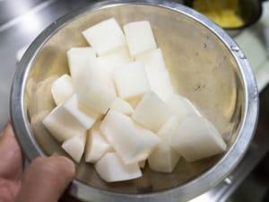 日式生薑燴豆腐蘿蔔