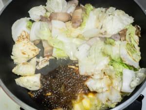 蒜香奶油醬燒培根白菜