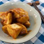 福島鄉土料理「味噌かんぷら」味噌炒馬鈴薯