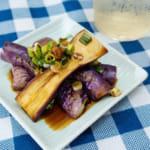 日式涼拌辣茄子|微波爐料理