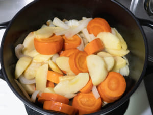 紅蘿蔔蘋果濃湯