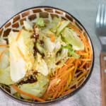 蒜香油沙拉醬|自製和風沙拉醬