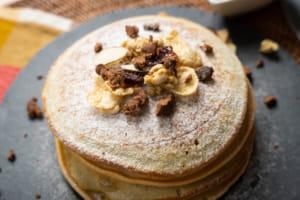 高蛋白抹茶鬆餅|紐崔萊蛋白素