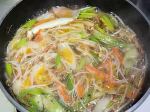 燴菜醬油拉麵|輕食拉麵