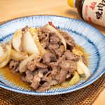 日式燒肉醬炒羊肉