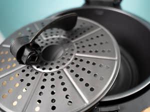 氣炸鍋味噌蒜炒雞腿,中秋節免油煙|Arlink黑武士攪拌型氣炸鍋EC-990