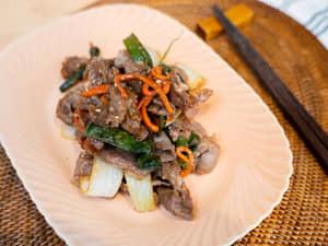 味噌烤羊肉片|日式燒肉醬用法