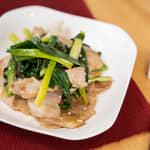 鹽燒豬肉韭菜