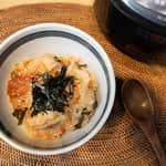 一鍋到底,韓式泡菜糙米雜炊|象印微電腦電子鍋