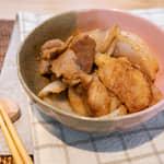 味噌美乃滋炒豬肉