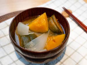 南瓜味噌湯
