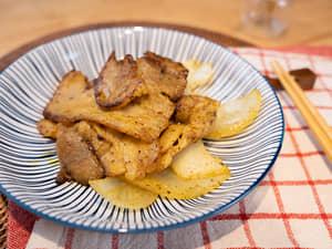 豬肉炒咖哩美乃滋