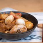 日式燒肉醬做蘿蔔泥燒雞腿