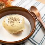 用日式烤飯糰做奶油起司燉飯