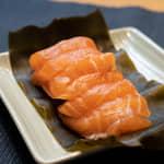 昆布裹鮭魚生魚片|costco好市多鮭魚