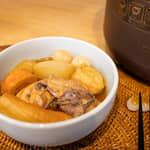 『主婦廚房必備神器』10分鐘壓力鍋日式煮物|日本BRUNO多功能壓力電子鍋