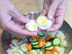 大同電鍋做馬鈴薯沙拉,一鍋到底超簡單