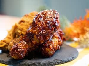 讓人瘋狂的韓式炸雞!feat.蜂蜜辣醬口味