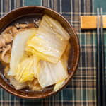 和風豬肉白菜湯