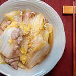 白菜燴豬肉