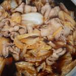 白菜豬肉壽喜燒煮
